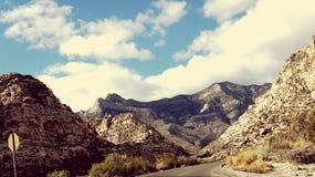 Mountain drive Stock Image