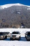Mountain driving Stock Photo