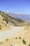 Mountain Driving in the Eastern Sierra Royalty Free Stock Image