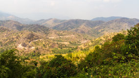 Mountain drought Stock Image