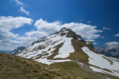 Mountain in Durmitor National Park, Montenegro Royalty Free Stock Images
