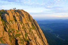Mountain dusk Royalty Free Stock Photography