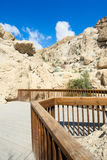 Mountain in Ein Gedi Royalty Free Stock Image