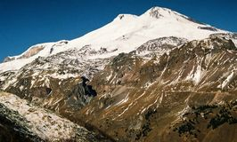 Mountain Elbrus. Royalty Free Stock Images