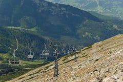 Mountain elevator, Zakopane, Poland Royalty Free Stock Photography