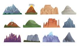 Free Mountain, Erupting Volcano, Iceberg, Rock Royalty Free Stock Images - 195534879