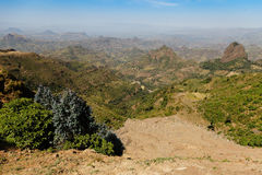 Mountain in Ethiopia. Mountains in Ethiopia, Africa, view of the mountain Stock Images