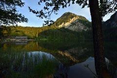 Gleinkersee, Totes Gebirge, Oberosterreich, Austria royalty free stock photo