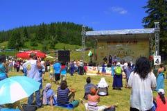 Mountain fair scene Royalty Free Stock Image