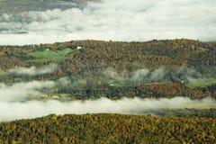 Mountain Fall Foliage Royalty Free Stock Photos