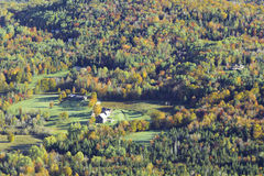 Mountain Fall Foliage Stock Photo