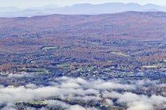 Mountain Fall Foliage Stock Photography