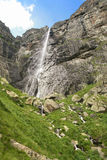 Mountain falls. In Central Balkan National Park in Bulgaria.Its height is 124,5m Royalty Free Stock Images