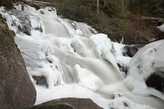 Mountain Falls, Winter Ice Royalty Free Stock Image