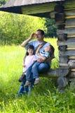Mountain Family Royalty Free Stock Photography