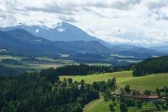 Mountain farm Stock Photography