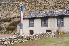 Mountain Farmhouse Stock Photography