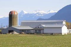 Mountain Farming Royalty Free Stock Photography