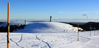 Mountain Feldberg, Black Forest Royalty Free Stock Photos