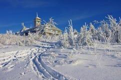 Mountain Fichtelberg Stock Photography