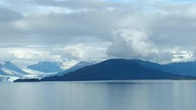 Free Mountain Filled Horizon On The Pacific Ocean. Inside Passage Alaska Stock Images - 140377074