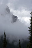 Mountain Fog Stock Photography