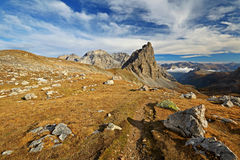 Mountain footpath Stock Image