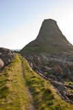 Mountain footpaths Stock Images