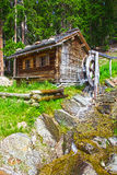 Mountain forest house Stock Images