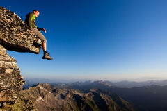 Mountain freedom Stock Photography