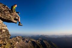 Mountain freedom stock photography