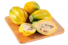 Mountain fruit. Guava Royalty Free Stock Images