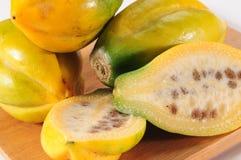 Mountain fruit. Guava Royalty Free Stock Photo