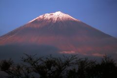 Mountain Fuji. Mt. Fuji at sunset time Royalty Free Stock Photography