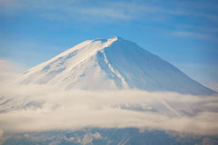 Mountain Fuji with blue sky , Japan. stock image