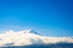 ,Mountain Fuji with blue sky , Japan Royalty Free Stock Images