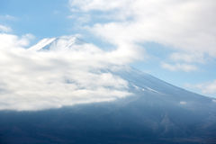 Mountain Fuji Cloudy Japan Royalty Free Stock Photos