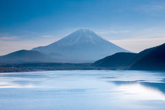Mountain Fuji in japan Stock Photos
