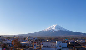 Mountain Fuji in Japan Stock Image