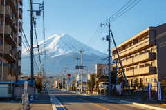 Mountain Fuji in Japan Stock Photo