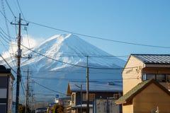 Mountain Fuji in Japan Royalty Free Stock Images