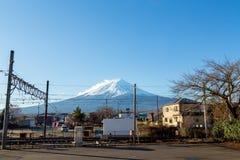 Mountain Fuji in Japan Royalty Free Stock Photography