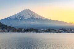 Mountain Fuji Kawaguchiko Royalty Free Stock Image