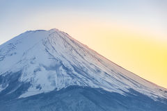 Mountain Fuji Kawaguchiko Stock Images