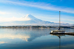 Mountain fuji and lake kawaguchi, Japan. Mountain fuji and lake kawaguchi, Japan royalty free stock images