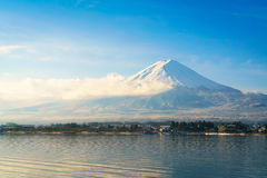 .Mountain fuji and lake kawaguchi, Japan. Mountain fuji and lake kawaguchi, Japan stock photography