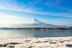 .Mountain fuji and lake kawaguchi, Japan. Mountain fuji and lake kawaguchi, Japan stock photos