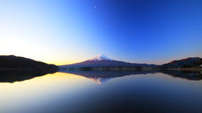 Mountain Fuji and lake reflection Stock Image