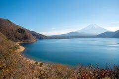 Mountain Fuji Motosu Lake Japan Royalty Free Stock Photo