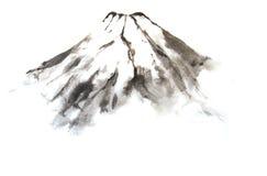 Mountain Fuji. Royalty Free Stock Photo